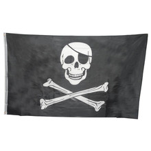 Huge 3x5FT Skull Crossbones Pirate Flags Grommets Decoration U6802 DROP SHIP(China)