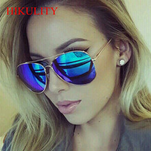 Men Luxury Brand Sunglasses Polarized Aviator Sunglasses Women 2017 Rose Gold Aginst Sunglases Lunette Femme Sun Glasses