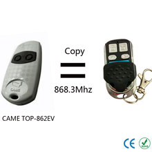 Top quality CAME TOP-862EV remote control copy clone 868.35mhz(China)