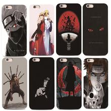 Sketch Naruto mens case For iphone 4 4s 5 5s 6 6s 7 plus for Samsung s3 s4 s5 s6 s7 Edge Hard plastic phone case
