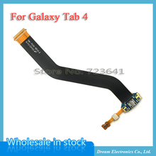 MXHOBIC 5pcs/lot USB Charger Charging Port Dock Connector Flex Cable Ribbon For Samsung Galaxy Tab 4 10.1 T530 T535 T531 Parts