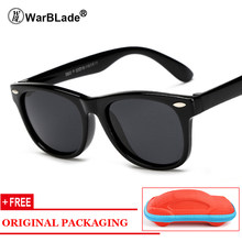 Niños TR90 Unbreakable polarizado gafas de sol niños seguridad Polaroid  UV400 espejo gafas de sol del deporte oculos con el caso dce73fb71f