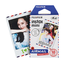 Geniune Fujifilm Fuji Instax Mini 8 Paper Photo Film Air Mail 10PCS Photo Shoot For Mini 8 70 8 Plus 90 Camera SP-1 SP-2
