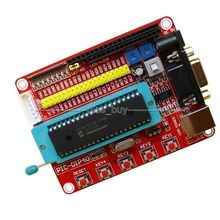 Free Tracking Mini System PIC Development Board + Microchip PIC16F877 PIC16F877A