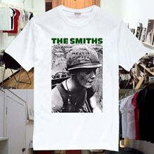 The Smiths Meat Is Murder Single Rock Music Band CD T Shirt Unisex SS3 2017 New Short Sleeve Casual T-Shirt Top Tees