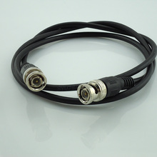 10 Pcs Wholesale 1 Meter 3 Feet Length Rg59 Coax Coaxial Cable Bnc Male Connector To Bnc Connector Male Cctv Cable Accessories