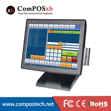"15"" Single Screen Resistive Touch POS/ Intel Core i3 processor /Restaurant Touch Screen Cash Registers With Card Reader"