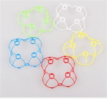 Drones Spare Parts Cheerson CX-10 CX-10A Protective Frame Rc Helicopter Propeller Protector Rc Quadcopter Spare Kits(China)