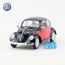 KINSMART Die Cast Metal Models/1:24 Scale/1967 Volkswagen Classical Beetle(Color Door)toys/for children's gifts or collections