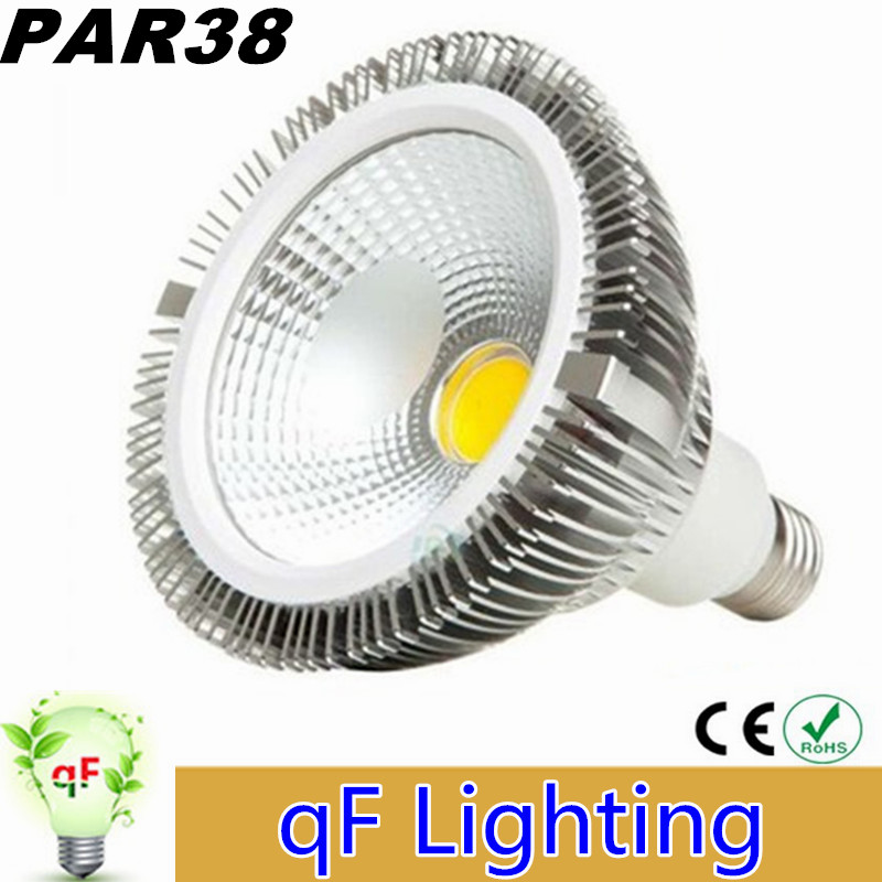 Newest COB Led PAR38 Lights High Power 25W E27 Dimmable Led Spot Bulbs Lights (Frosted + Clear)Cover Warm/Cool White AC 110-277V<br><br>Aliexpress