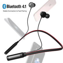 Buy New Bluetooth Headphone Sports Headphones Dual Stereo Microphone Headphone Bass Bluetooth Headphone iPhone XiaoMi Android for $27.90 in AliExpress store