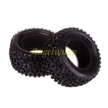 HSP 06025P Rear Wheel Tyre 2p 1/10 Scale For Himoto Nitro Electric RC Buggy