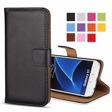For Samsung Galaxy S2 S7 S6 Phone Case Leather Wallet For Samsung S5 S4 S3 Mini S7 Edge S6 Plus Cases Cover Coque Etui Capinhas(China)