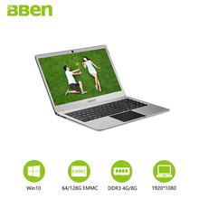 Bben laptop Netbook Intel celeron N3450 14.1 inch tablet pc Windows 10 Home 4GB/64GB EMMC Quad Core windows tablet(China)