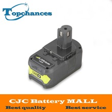 New 18V 4000mAh Li-Ion For Ryobi Hot P108 RB18L40 High Capacity Rechargeable Battery Pack Power Tool Battery Ryobi ONE+