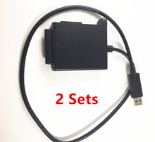 2pcs Original High Quality HDD Hard Drive Data Transfer Cord Line Cable For Microsoft Xbox 360 Slim S Xbox 360 E Xbox 360