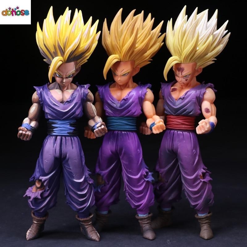 Anime Dragon ball Z Action Figure MSP Master Stars Piece The Son Gohan  Super Saiyan 2 PVC Collection Model Kids Toy Doll