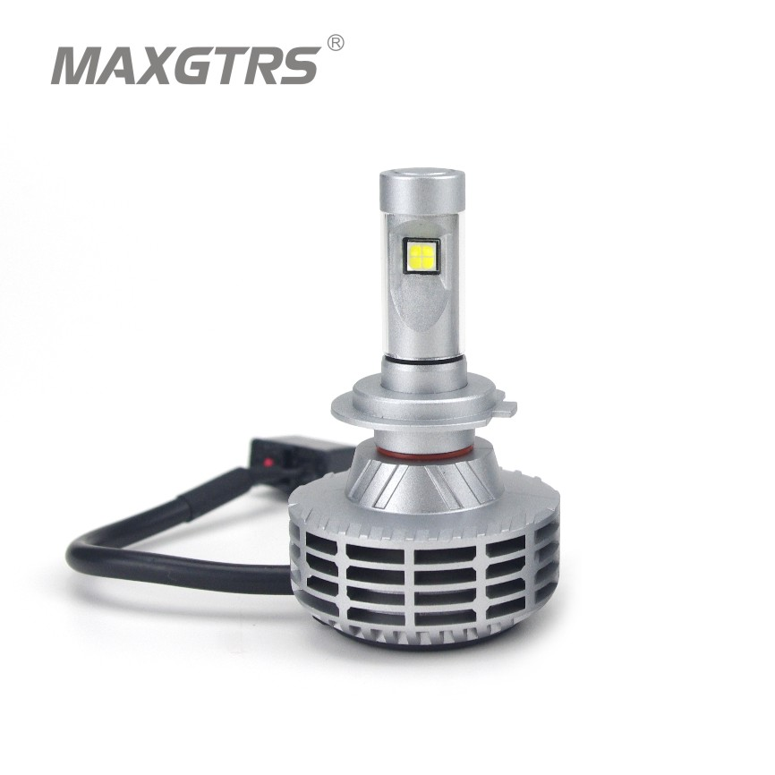 2x H7 6000Lm CREE Chip XHP50 Led 60W Plug&amp;Play No Fan No Ballast Car DRL Fog Headlight Light Lamp Driving Bulb Kit All In One<br><br>Aliexpress