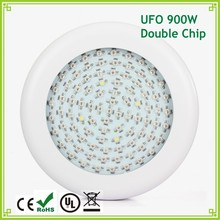 1pcs Double Chips 10W 90LED Full Spectrum Led Grow Light UFO 900W Led Plant Bulb Lamp for Flowering Plants Indoor Greenhouse