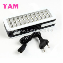 Portable 30-LED Rechargeable Emergency Light Camp Lamp New #G205M# Best Quality