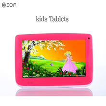 Original 7 Inch Quad Core Android4.4 Tablets Pc TFT LCD Bluetooth Installed Best gifts for Children Rubber sheath cover