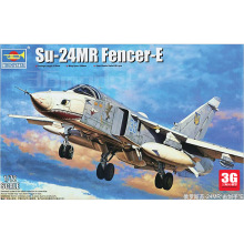 TRUMPETER model 01672 1/72 scale airplane Sukhoi Su-24MR Fencer-E assembly model kits model building scale airplane model kit