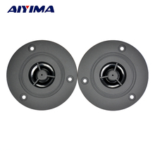 AIYIMA 2Pcs 3Inch Audio Portable Speakers 6Ohm 10W Speaker Louderspeaker Tweeter Treble for Stereo Sound Box DIY Accessories(China)