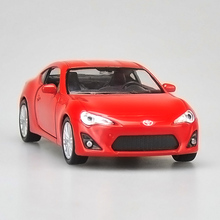 High simulation Welly super car 1:36 scale alloy pull back Toyota 86 cars metal model toys Collection free shipping