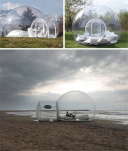 inflatable show house Backyard Transparent tent,inflatable beach tent,inflatable dome tent