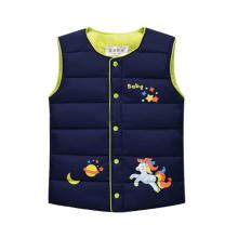 Autumn&Winter Sweet Children's Boys Girls Jackets Cotton Warm Kids Vest Girl Waistcoat Children Outerwear Clothing