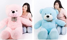 80CM Large Teddy Bear, Lovers Big bear Arms Stuffed Animals Toys Plush Doll ,retails,gifts for girl filled with(China)