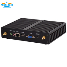 Pentium N3520 N3510 Quad Core Fanless Desktops Computer with USB3.0 8G RAM SSD Linux Embedded