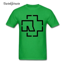 Wholesale Fashion Brand T Shirt Men Rammstein T Shirt Tee Shirt Men Clothing Trip Hop Style Trend Tees Adult Cotton Rock T-shirt