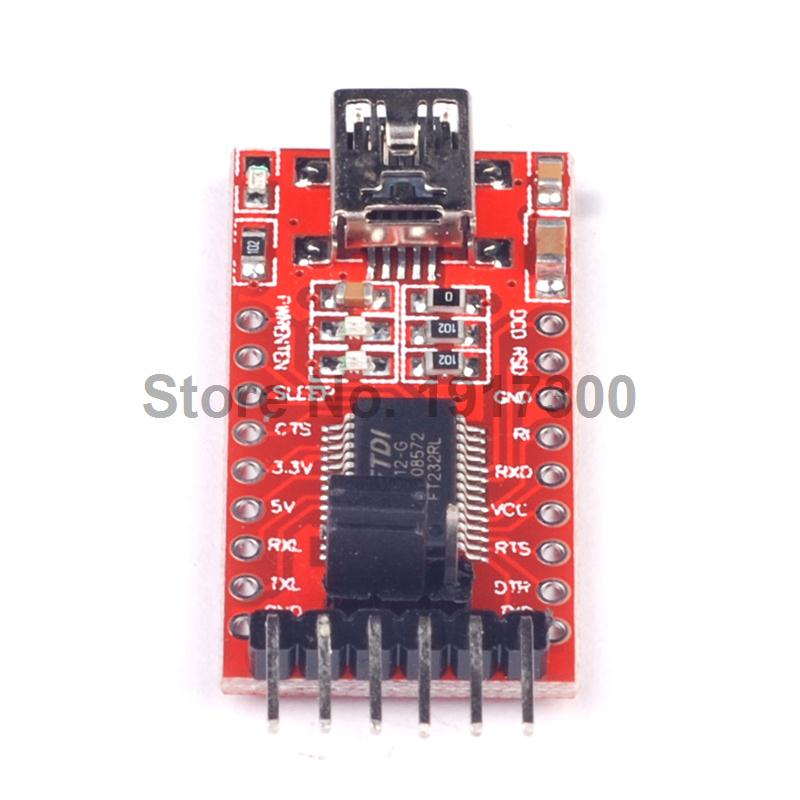Free Shipping 1PCS FT232RL FT232 USB TO TTL 5V 3.3V Download Cable To Serial Adapter Module For Ar duino USB TO 232<br><br>Aliexpress