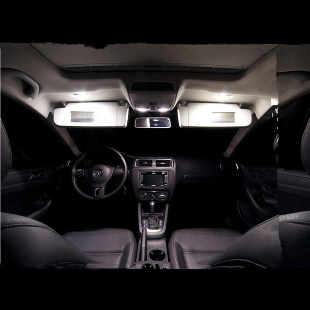 11pcs Canbus For Volkswagen VW Jetta MK6 LED Interior Light Kit Package Sedan 2011 2012 2013 Car Styling<br><br>Aliexpress