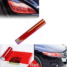 Car-styling Car Stickers Car Headlight Fog Lamp Protect Film Vinyl Wrap Overlays Sheet For ALL Car Dropshipping(China)