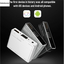 Kebidumei S8pro USB to HDMI/VGA+Audio Converter Digital AV Adapter Powered by EZcast for IOS Android Devices Windows Computer(China)