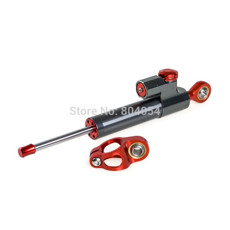 Adjustabl CNC Steering Damper Stabilizer For Street/Sport Bikes CB CBR YZF FZ GSX-R Ninja ZX Motorcycle Accessories<br>