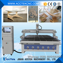 High accuracy AKM2040 vacuum table cnc router