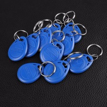 20PCS RFID Proximity Read ID Door Access Key Token Tag Fob 125KHz/13.56MHz RFID Tag ID Token Key Keyfobs Ring