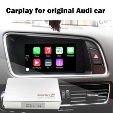 Camera Interface with Dynamic Parking Guideline IPAS Carplay Box for A4 A4L A5 S5 Q5 Original Screen Upgrade MMI system Carplay(China)