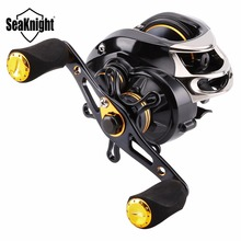 SeaKnight LYCAN HG Baitcasting Fishing Reel 7.0:1 12BB 5KG Drag Wheel Magnetic Systems Carbon Fiber Aluminum Spool Carp Tackle(China)