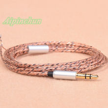Aipinchun 3.5mm 3-Pole Jack DIY Earphone Audio Cable Repair Replacement Headphone 40 Core Wire Cord Nice for In-Ear Bass AA0230