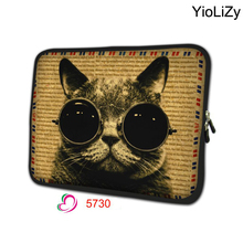 cat print laptop sleeve 7.9 soft notebook cover soft tablet case 7 mini Tablet Protective Shell for samsung galaxy tab 3 TB-4033