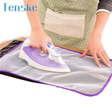 TENSKE 1x Ironing Board Clothes Protector Insulation Clothing Pad Laundry Polyester U70328(China)
