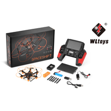 WLtoys Q383-C New RC Mini Plane 720P HD Imaging Aircraft 2.4G 4WD Gyroscope 6 Drive Motors RC Radio Remoto Control Air Model Toy(China)