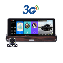 New Full HD Car DVR GPS Android 7inch Touch Dual Camera WiFi Auto Camera Car Center Console Bus Truck car camera