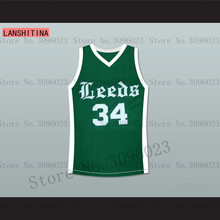 LANSHITINA Charles Barkley 34 Leeds High School Basketball Jersey Any Player Shirt(China)