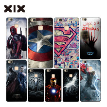 For P9 lite case super heros hard PC back cover for fundas Huawei P9 lite case 2016 new arrivals coque for Huawei P9 lite