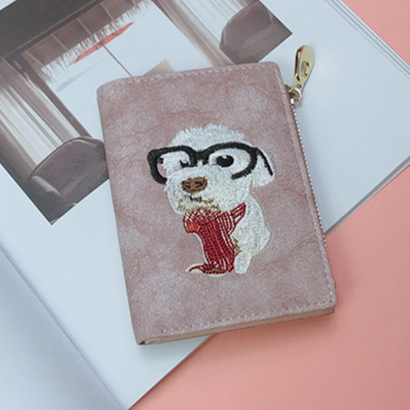 YOUNNE Women Wallets PU Leather Card Holders for Girls Wallet Bag for Card Holder High Quality Coin Purse Solid Carteira Feminin02